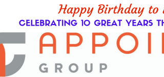 Appoint Group Celebrates 10th Birthday